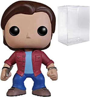 Funko Pop! Supernatural - Sam Winchester Vinyl Figure (Includes Compatible Pop Box Protector Case)