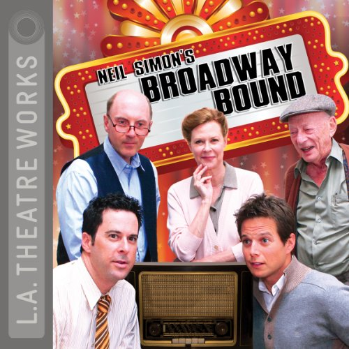 Broadway Bound (Dramatization)                   By:                                                                                                                                 Neil Simon                               Narrated by:                                                                                                                                 Dan Castellaneta,                                                                                        Caroline Aaron,                                                                                        Kyle Colerider-Krugh,                   and others                 Length: 1 hr and 59 mins     2 ratings     Overall 3.0