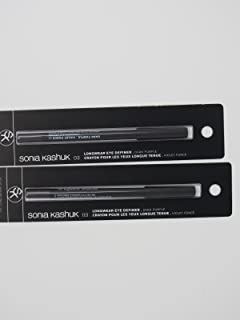 Sonia Kashuk Longwear Eye Pencil - Dark Purple - Pack of 2
