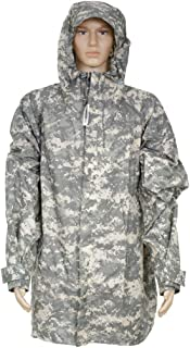 Genuine Issue GI Improved Wet Weather Rain Suit Parka (IRS) ACU (X-Small)