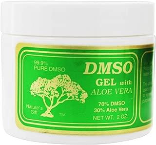 Nature's Gift DMSO - Gel con el áloe Vera - 2 oz.