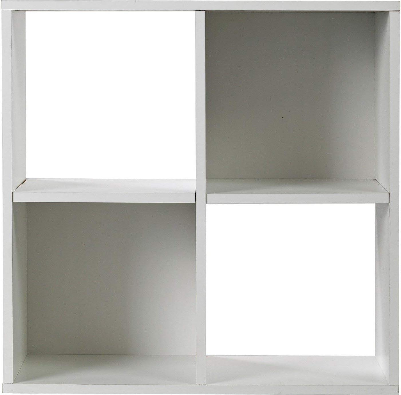 Home Squares - Estantería de almacenamiento (4 unidades ...