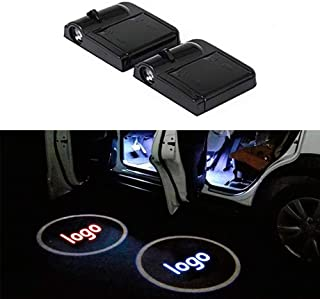 Car Door Lights for TOYOTA, Universal Wireless Car Door Shadow Light Welcome Light Laser Emblem Logo Lamps Kit by FLYEEGO (2PCS)