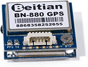 BN-880 GPS Module Active Antenna NMEA-0183 Flight Control with Flash Compass HMC5883L AMP2.6/Pix4/Pixhawk Support GPS Glonass Beidou Car Navigation
