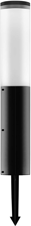 Techko SGL-402 Solar Super special price Garden Light Black Max 76% OFF