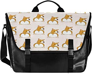 Bolso de lona para hombre y mujer, diseño de zorro de animales, estilo retro, ideal para iPad, Kindle, Samsung