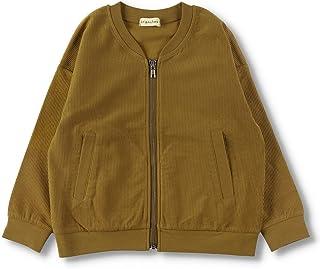 [ブランシェス] ジップアップ ライトジャケット 男の子 キッズ 子供 男児 ボーイズ ユニセックス 女の子 カーディガン UV加工 無地シンプル 上着 羽織
