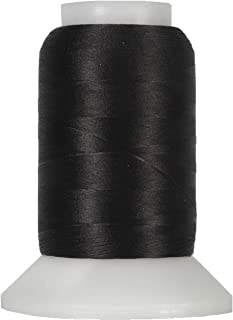 Threadart Wooly Nylon Thread - 1000m Spools - Color 9228 - Black - 50 Colors Available
