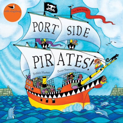Portside Pirates audiobook cover art