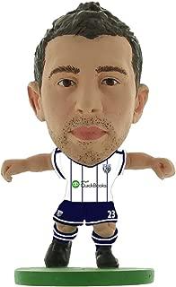 Gareth Mcauly West Bromwich Albion Home Kit Soccerstarz Figure
