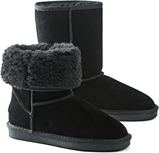 Women's Classic Snow Boots Fur Lined Ankle Bootie Warm...