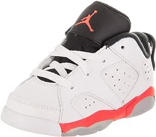 [768883-123] AIR Jordan AJ 6 Retro Low BT Infants Sneakers AIR JORDANWHITE Infrared 23 Black