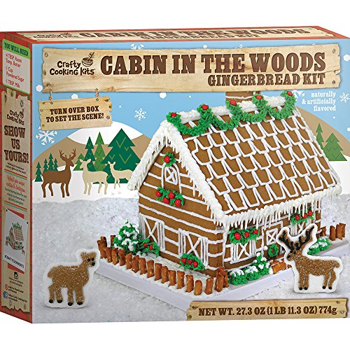 Crafty Cooking Kits Cabin in the Woods Kit, Gingerbread, 27.3 Ounce