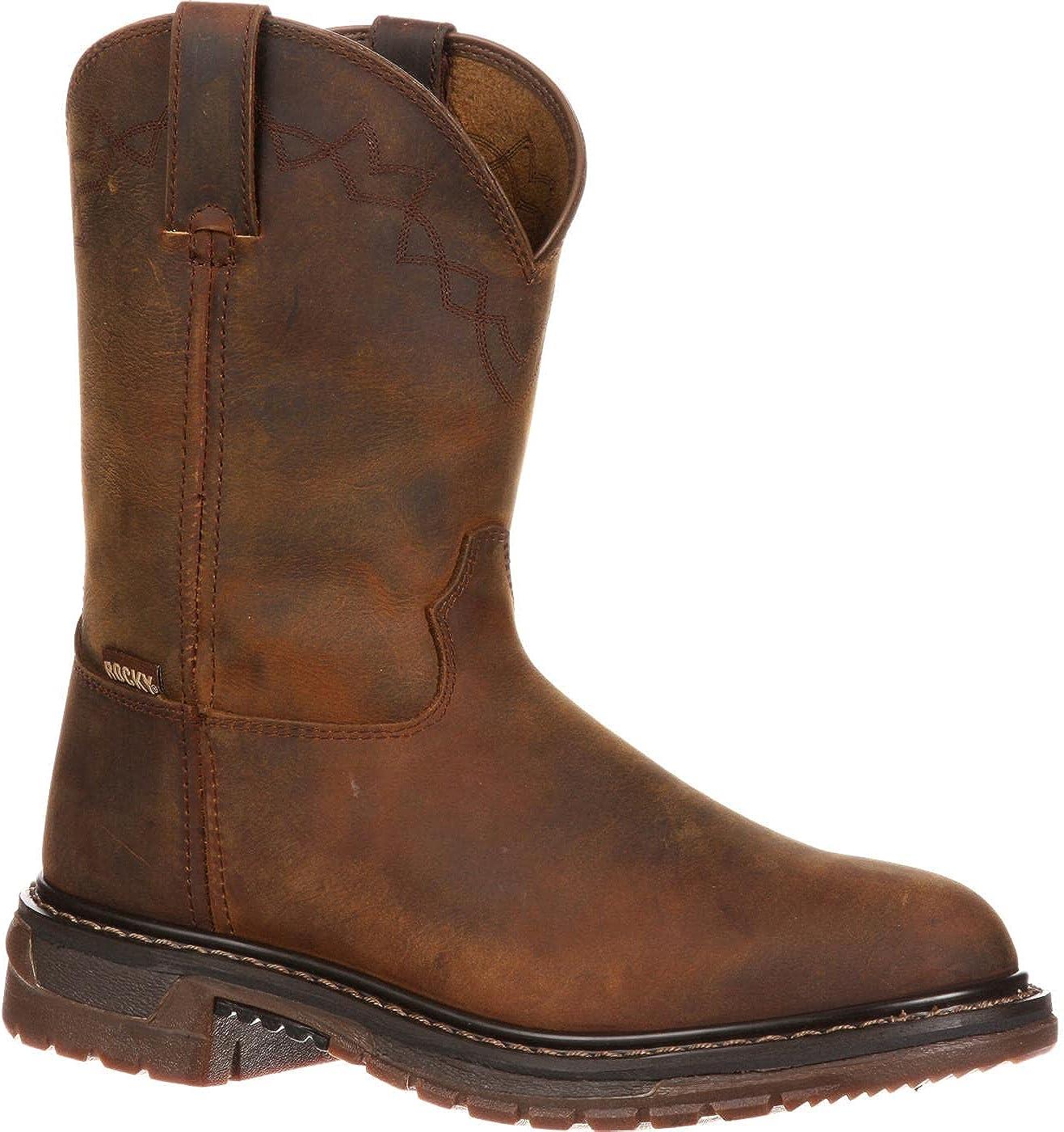 Rocky Original Ride Roper Western Boot Size 7.5(M)