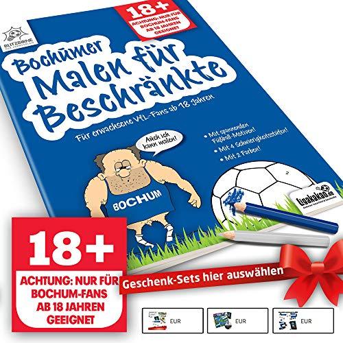 Bochum Fanartikel ist jetzt Bochumer Malbuch für Beschränkte by Ligakakao.de
