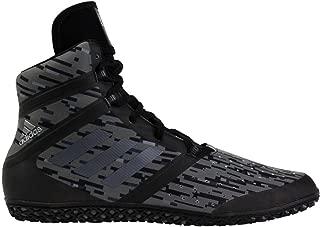 adidas Impact Men's Wrestling Shoes, Black Digital Print, Size 10