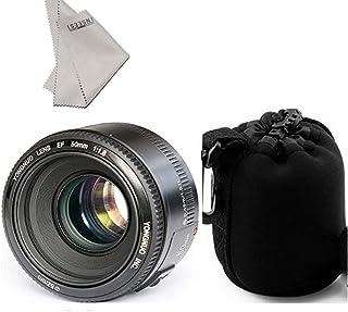 Yongnuo yn50mm F/1.8AF Lens + lynca impermeable lente Proteger bolsa para cámara Canon EOS Rebel