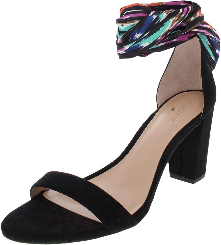 Inc Womens Kanata Faux Suede Ikat Dress Sandals