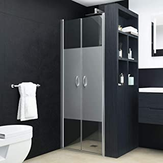 Festnight Walk-in Shower Screen Glass Shower Doors Shower Enclosure Shower Doors for Walkin Shower Shower Stall Shower Wal...