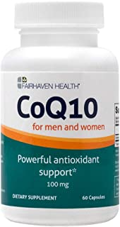 Coenzyme Q10 to Support Reproductive Health: 60 Capsules CoQ10, 2-Month Supply