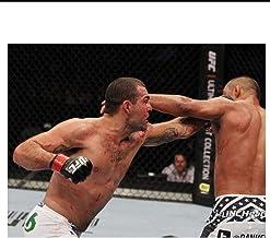 nr Mauricio RUA Shogun vs Henderson MMA Mixed Marcial-Wall Sticker Seda Poster Light Canvas Decoration-60x90cm sin Marco