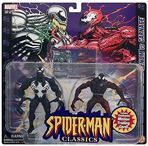 entrega de rayos Marvel Spider-Man Classics Venom Vs Carnage Action Figures by by by aflot2-toy-vnmcrng-035112430933-n  promociones