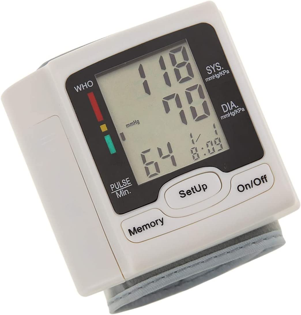 Health Care Automatic Wrist Digital Free shipping Blood Pressure excellence Monitor Autom