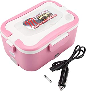 12V/24V Car Electric Heating Lunch Box Bento Food Warmer Container for Traveling(12V)