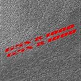 Etiqueta engomada del Tanque Pegatinas de Motocicletas de Motocross para Suzuki GSXR1000 GSXR 1000 GSX R 1000 K7 K9 K6 K5 Accesorios de calcomanías 2017 2018 2006 (Color : 8)