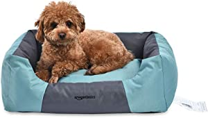 Amazon Basics Water-Resistant Pet Bed