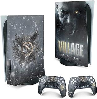 Skin PS5 Playstation 5 Adesivo - Resident Evil Village