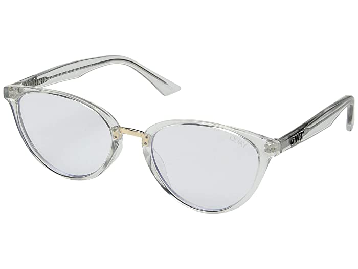 Chrissy X Quay Rumours (Clear/Clear Blue Light) Fashion Sunglasses