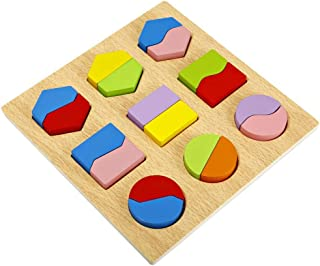 Kids Baby Wooden Early Education Shape Matching Learning Educational Toys
