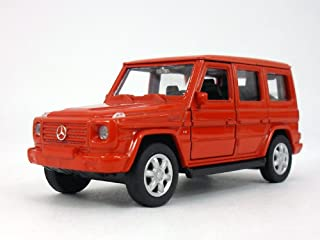 MERCEDES-BENZ G-Class (G500) Wagon 1/32 Scale Diecast Metal Model - Red