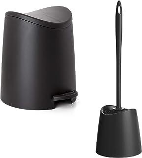 PracticDomus - Conjunto Cubo de Baño con Pedal de 3L y