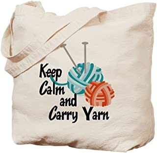 Best keep calm and carry yarn knitting bag Reviews