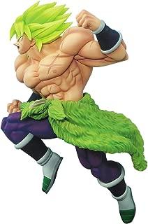 Banpresto Dragon Ball Super Saiyan Broly Fullpower Z-Battle Figure, Multicolor