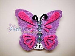 Disco orario farfalla - idea regalo donna