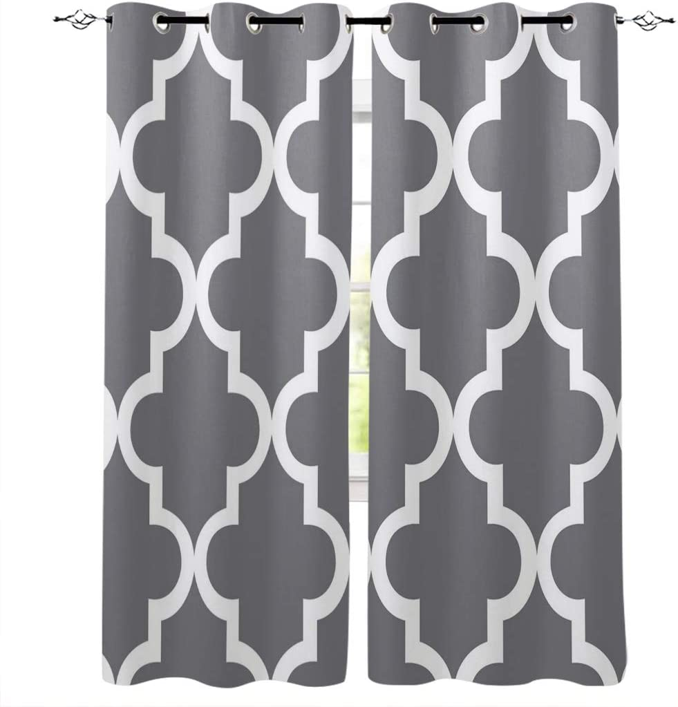 Kitchen Blackout Curtains Panels Window 入荷予定 for Treatments Ro 中古 Living