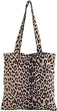 Valentoria Cyber Deals Monday Deals Sales 2018-New Arrival-Women's Leopard Tote Bag Shoulder Bag Handbag Lady Bags Makeup Bag (Apricot)