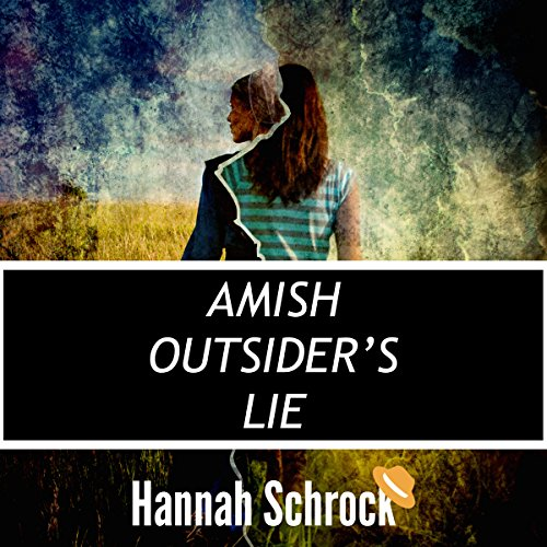 The Amish Outsider's Lie audiobook cover art