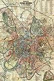 // TPCK // Vintage Map of Moskau From 1917 Fotodruck Poster