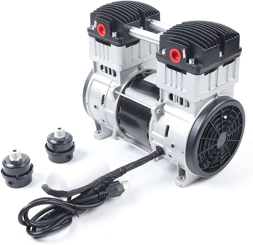 1.1KW Oil-free Diaphragm Vacuum Oilless It is New product! New type very popular Mute Du Pump