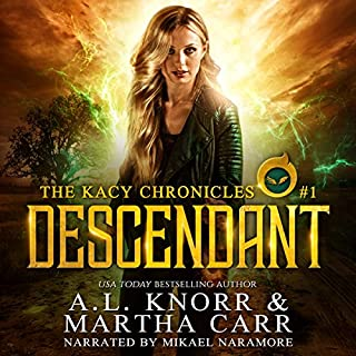 Descendant: The Revelations of Oriceran audiobook cover art