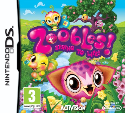 [UK-Import]Zoobles Game DS