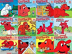 Image: Clifford® All Year Pack: Goes to Dog School, Takes a Trip, Clifford the Big Red Dog, Clifford, We Love You, Birthday Party, Clifford's Christmas, Day with Dad, Clifford's Family, Halloween, Happy Easter, Happy Mother's Day, Thanksgiving Visit (Clifford)