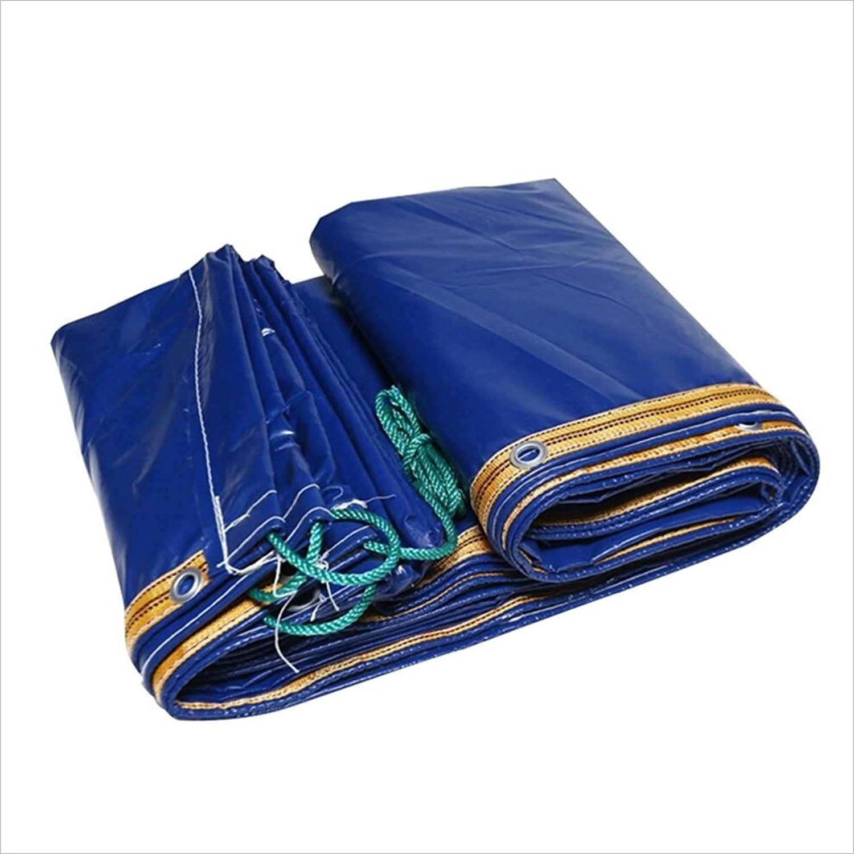 AJZXHE Blaue LKW-Plane, regendichte Dicke Plane Picknick-Matte, Fracht Fracht Fracht Sonnenschutzisolierung und verschleißfest, Plane B07FXK331M  eine breite Palette von Produkten f804ba