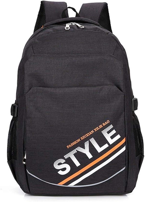 Student Bag Reflective Travel Backpack Korean Casual Backpack