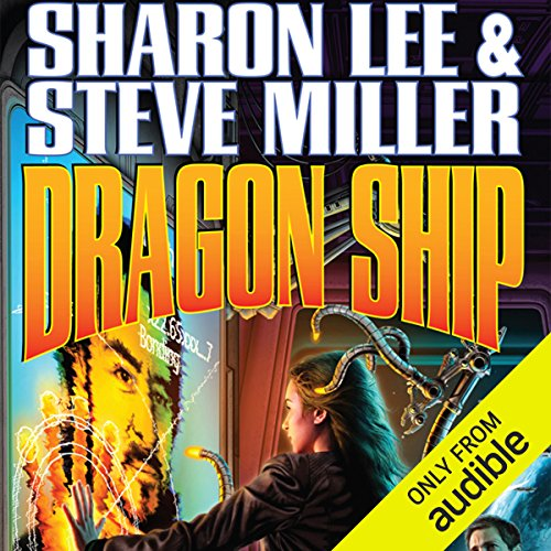 Dragon Ship audiobook cover art