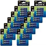 AM3 AA LR6 AA Sony-Pila Alcalina, Color Azul